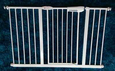 Lindam easy fit premium baby/child safety stair gate with extensions