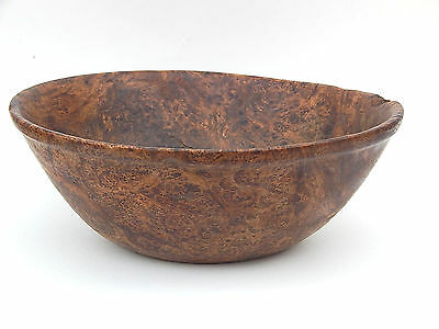 18th C. American Ash Burl Wood Bowl Primitive New England or Great Lakes