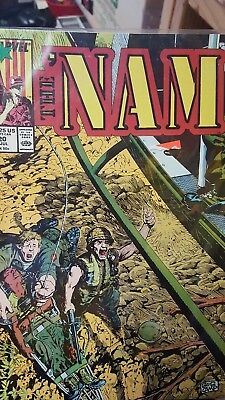 Marvel Comics The Nam 1988 July 20