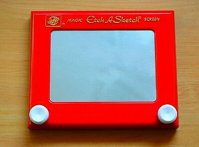 Etch A Sketch, Drawing Antique Kids Adults Play Games