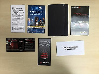 Dodge Grand Caravan 2012 Owners Manual Book In  Case.  // Free Shipping