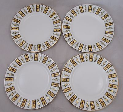 Royal Crown Derby MADISON A1254 - 4 dinner plates - 27cm red stamp