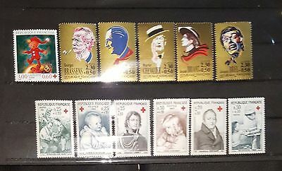 Timbres France Neufs Croix Rouge
