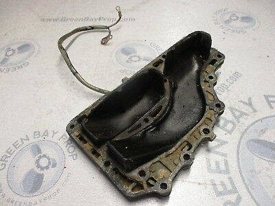 0315870 0317468 Evinrude Johnson 50 HP Outboard Exhaust Cover Inner/Outer 1972