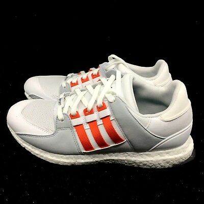 3555a56ff New ADIDAS ORIGINALS EQT SUPPORT ULTRA BOOST MENS SHOES BY9532 White Bold  Orange