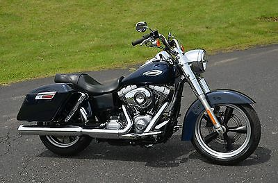 2013 Harley-Davidson Dyna  2013 Big Blue Pearl Harley Davidson Dyna Switchback FLD-103 - We Finance & Ship!
