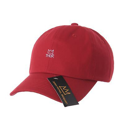 33c15737 WITHMOONS BASEBALL CAP Jean-Michel Basquiat Crown Embroidery CR1617 -  $25.99 | PicClick