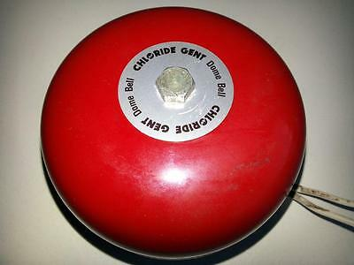 Chloride Gent, Collectable Round Dome 6/12V Dc Fire/school Bell