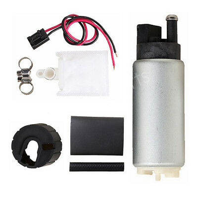 255LPH High Pressure & High Performance Fuel Pump & Universal Kit Replace GSS342