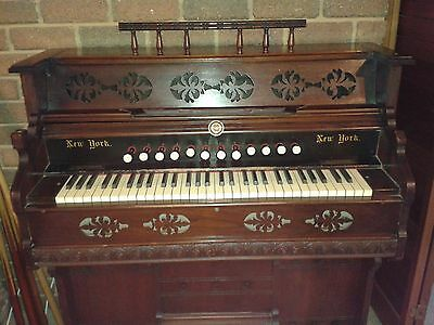 Antique Pump Organ - Made By Suttons Ballarat
