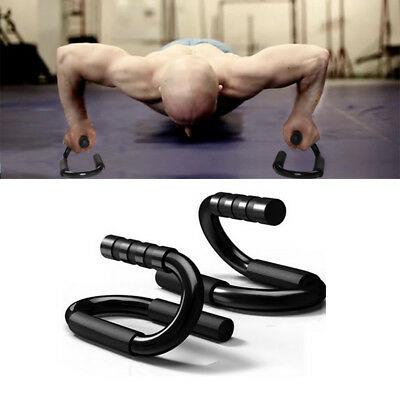 2Pcs Push Up Stands Bars Handles Home Fitness Workout Gym Exercise Equipment
