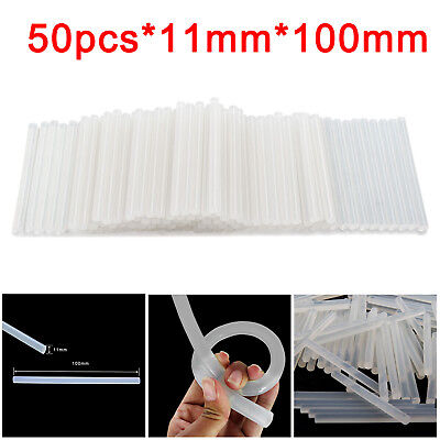 50X11mm ADHESIVE HOT MELT GLUE CRAFT TOOL STICKS FOR TRIGGER ELECTRIC GUN HOBBY
