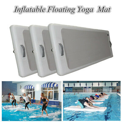 Inflatable Floating Yoga Mat Air Tumbling Track For Gymnastics Air Floor Fitness