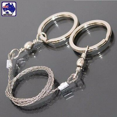 Portable Survival Survive Saw Rope Wire Line Trees Camping Hiking OKNIF6101