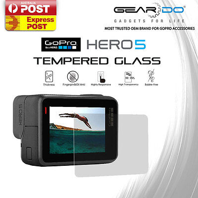 New Tempered Glass Screen Protector for Gopro Hero 5 Action Camera