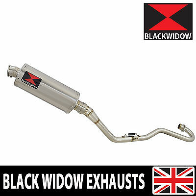 Honda XR 125 L 2003 - 2010 Exhaust System 300mm Oval Stainless Silencer 300SS