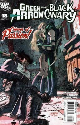Green Arrow Black Canary (2007) #18 FN