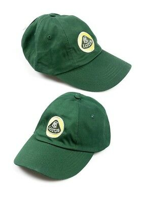 CAP LBC 01 Formula One 1 Team Lotus F1 NEW!  Unstructured Roundel Yellow & Green