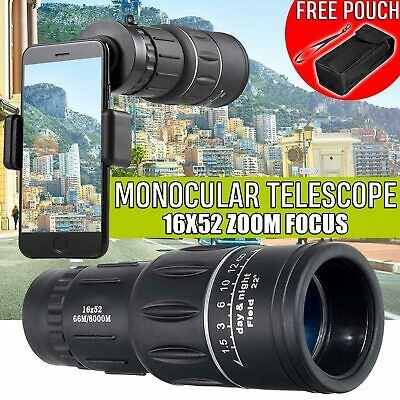 30 x 60 Folding Binoculars Zoom Telescope Day Night Vision Outdoor Travel Bag US