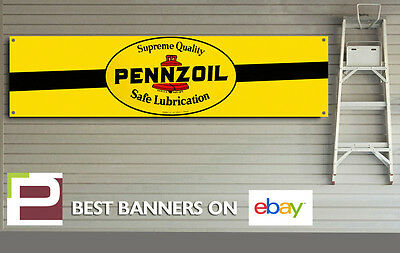 garage or man cave heavy duty banner for workshop Classic Castrol Banner