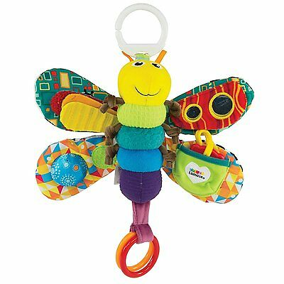 Infant Baby Toddler Kid Child Mirror Crinkle Rattle Squeaky Teether Activity Toy