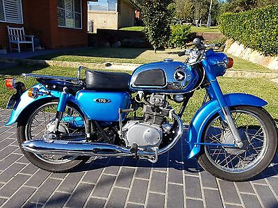 Honda Cd175 1969 Motorcycle