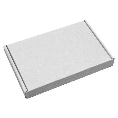 White C6 A6 Large Letter PIP Size Strong Cardboard Shipping Postal Mailing Boxes