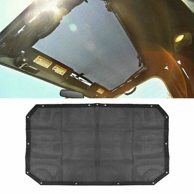 Mesh Sun Shade Top Covers Front or Rear Passengers For Jeep For Wrangler AU