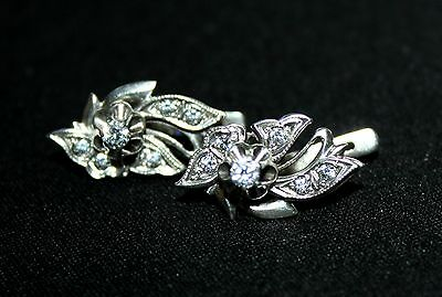 Awesome RARE Vintage EARRINGS Silver 925 Gold Plated USSR Antique!