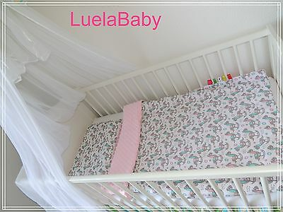 Couverture Minky Bebe + Coussin Handmade