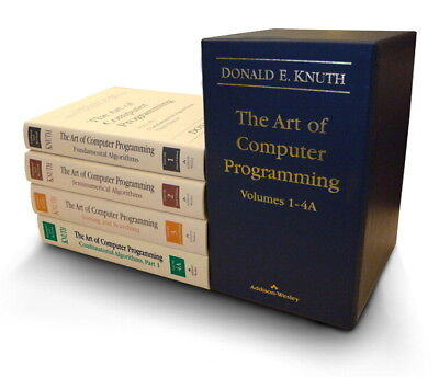 The Art of Computer Programming, Volumes 1-4, Knuth, Donald E.