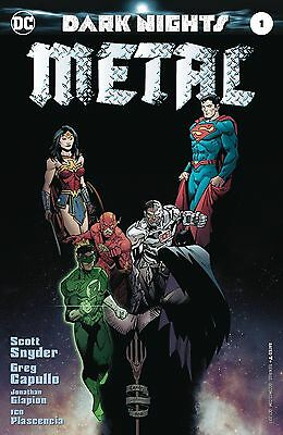 Dark Nights Metal #1 Dc Comics 1St Print Pre-Order 17/08/17