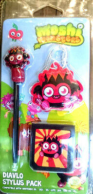 Moshi Monsters DIAVLO Stylus Pack 3 Accessories Brand New FAST & FREE Shipping*