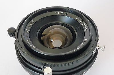 Mamiya Sekor 50mm f/6.3 for Press EXCELLENT CONDITION