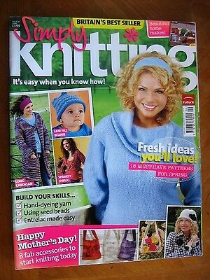Simply Knitting Magazine - Issue 26