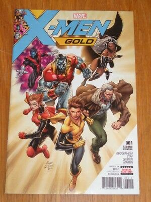 X-Men Gold #1 Marvel Comics 2Nd Print