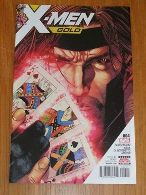 X-Men Gold #4 Marvel Comics