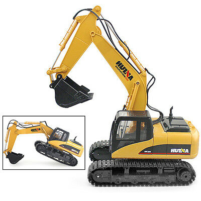 RC Toy 15 CH 40Mhz Metal Excavator Remote Control Alloy Construction Vehicle