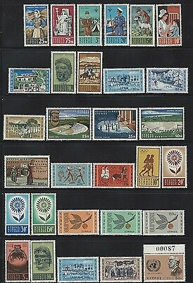 Cyprus - Mint Never Hinged Collection (1963-1966) Mnh