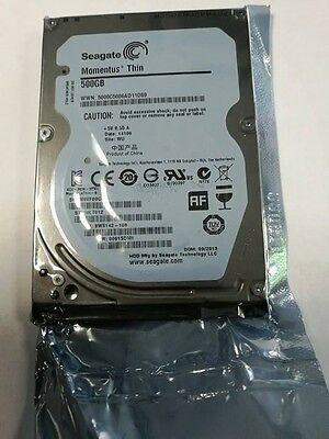 "New Seagate Momentus Thin 500GB 2.5"" Laptop SATA Hard drive PS3 PS4 HDD"