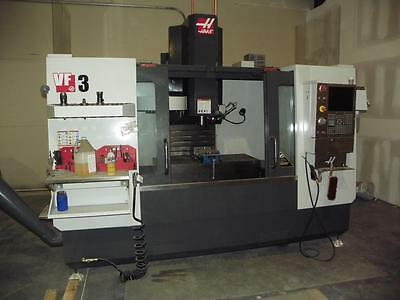 HAAS VF3 CNC Vertical Machining Center, New 2015, late model low hours