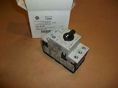 Allen Bradley Protected Motor Starter 140M-C2E-C10  6.3-10 AMPS   NEW IN BOX