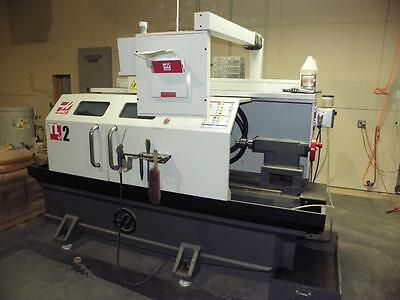 HAAS TL2 CNC Flatbed Toolroom Lathe, New 2015