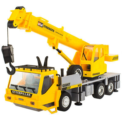 7CH Wireless Remote Control RC Engineering Construction Vehicle Crane Truck 27cm