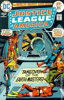 Justice League of America (1960 1st Series) #118 FN/VF 7.0