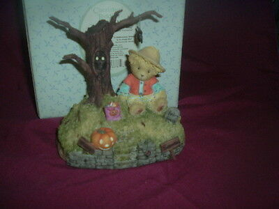 "Cherished Teddies-""halloween Is A Boo-Tiful Thing"" --119912-2004-Avon Exclusive"