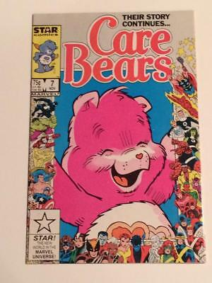Care Bears #7 Marvel Comics 25th Anniversary issue VF SCARCE 1986