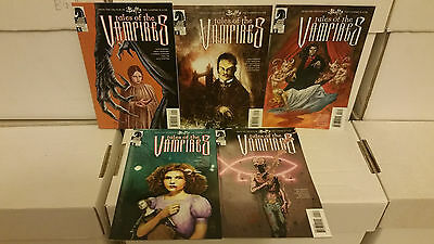 Tales Of The Vampires #1 2 3 4 5 Dark Horse Comics Lot Joss Whedon NM-