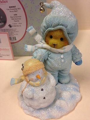Cherished Teddies Arlis Our Friendship Will Never Melt New In Box