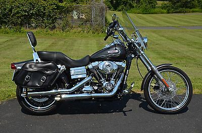 2006 Harley-Davidson Dyna  2006 Harley Davidson Dyna Wide Glide FXDWGI Fuel Injected Many Extras Low Miles